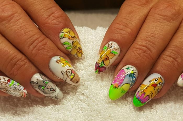 Wielkanocne paznokcie - wyniki konkursu