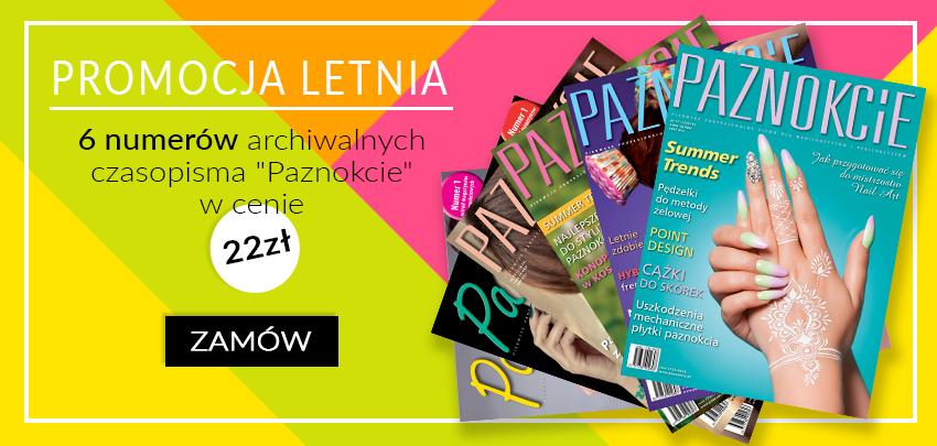 promocja letnia pakiet gazet czasopisma Paznokcie