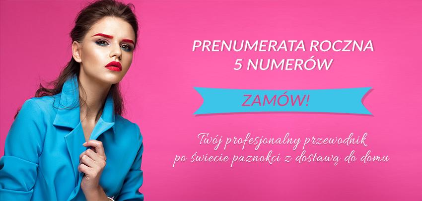 roczna prenumerata czasopisma gazeta Paznokcie