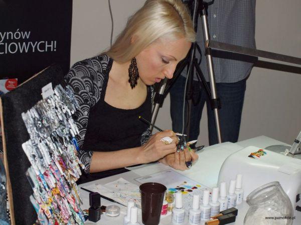 Warsztaty zdobienia paznokci z Valentiną Denisenko