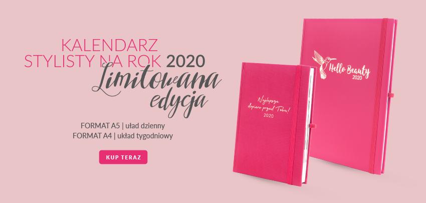 kalendarz dzienny A5 i tygodniowy A4 slider PAZNOKCIE – kalendarz 2020