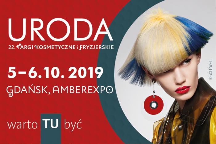 URODA 22. Targi Kosmetyczne i Fryzjerskie 5-6 października 2019 | Gdańsk, AMBEREXPO