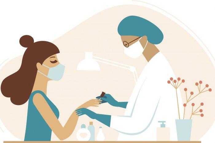 Nowe zasady pracy salonu stylizacji paznokci